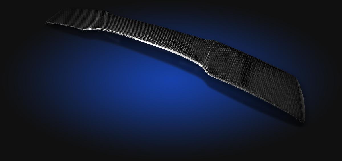 chevrolet; corvette; c6; extreme; z06; zr1; gs; grand; sport; rear; spoiler; carbon; fiber