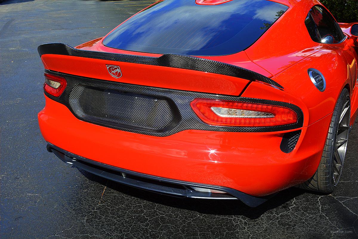 Dodge Aero >> Dodge Viper Gen 5 Tail Light Surround Panel | SS Vette Inc.