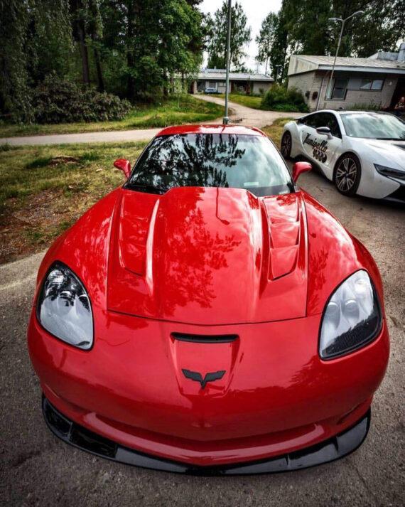 C6 Corvette SSV Extreme Vented Hood